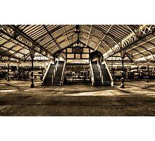 Tynemouth Metro Station Photographic Print