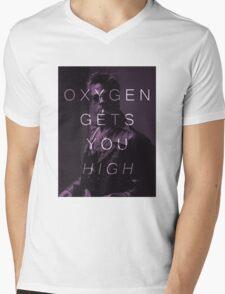 Oxygen Gets You High Mens V-Neck T-Shirt