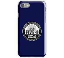 Hawaii Five-O Special Investigator Shield iPhone Case/Skin