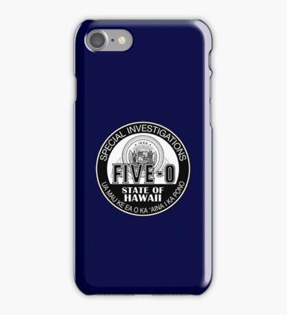 Hawaii Five-O Special Investigator Shield iPhone Case/Skin