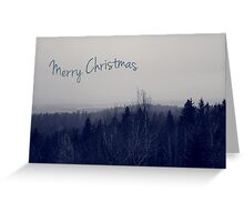 Winter - Merry Christmas Greeting Card