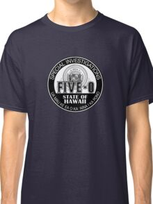 Hawaii Five-O Special Investigator Shield Classic T-Shirt