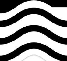 iSWIM black Sticker