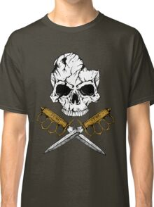 World War 1 Skull and Trench Knife Classic T-Shirt