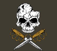 World War 1 Skull and Trench Knife Unisex T-Shirt