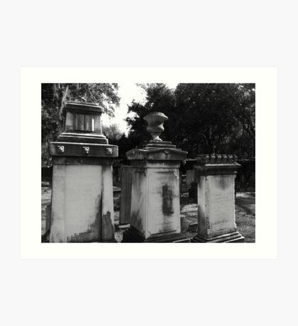 Southern Cemetery Art Print