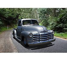 Classic Chevy Pickup Photographic Print