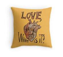 Real Question About Love Throw Pillow