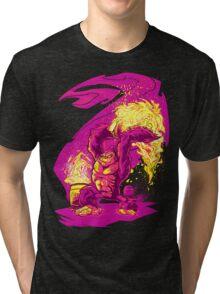 BARREL CHUCKER Tri-blend T-Shirt