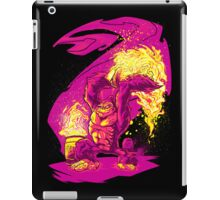 BARREL CHUCKER iPad Case/Skin
