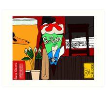 cornetto trilogy objects Art Print