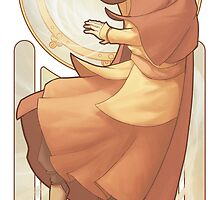 Aang - Art Nouveau Avatars by swadeart