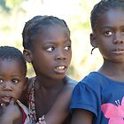 Family, near Mfuwe, Zambia by Tessa Manning