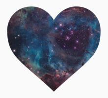 Heart-shaped Nebula by everyonedesigns