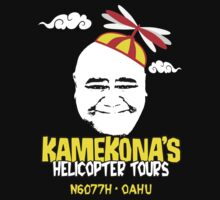 Kamekona's Helicopter Tours by fozzilized