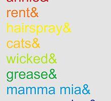 Broadway Rainbow by jenniferlothian