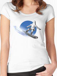 ECHO BASE FREERIDE Women's Fitted Scoop T-Shirt