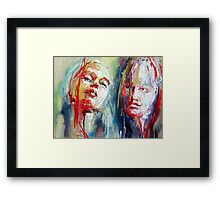 Rapture x 2 Framed Print