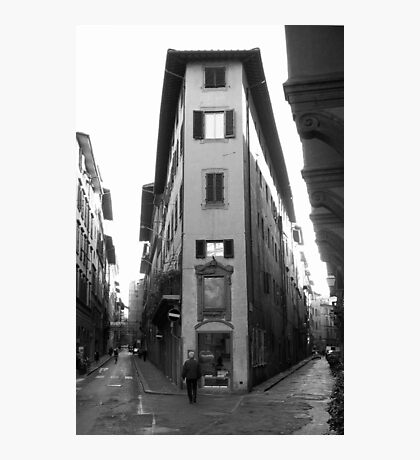 A Corner of Florence Photographic Print