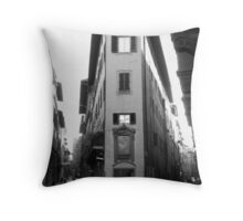A Corner of Florence Throw Pillow
