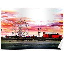 The Candy Floss Sky  Poster