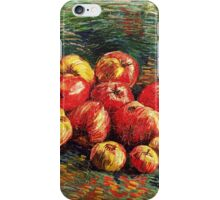 Van Gogh  - Apples, 1887 (bright version) iPhone Case/Skin