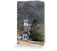 The Church in the Woods Greeting Card