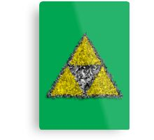 Painterly Triforce Metal Print