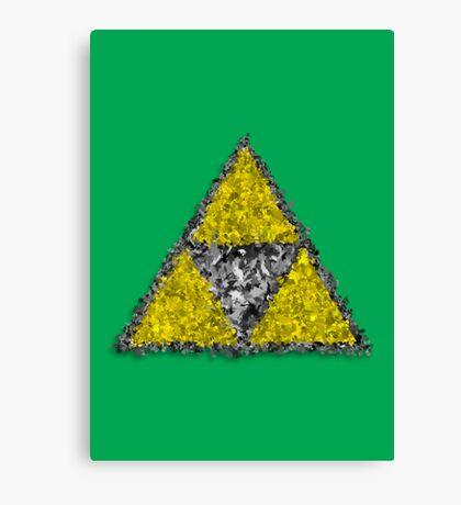 Painterly Triforce Canvas Print