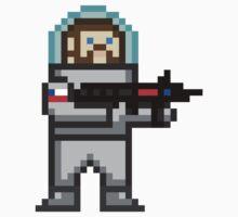 Space Mutiny - Sticker by Pixel Glitch