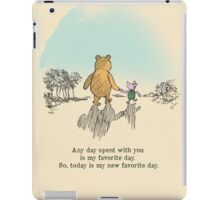 I love being with you iPad Case/Skin