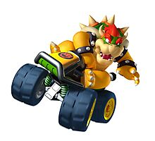 Bowser Kart Photographic Print