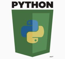 Python (large) by John Le Drew