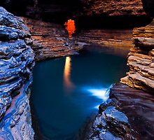 Kermit's Pool, Karijini National Park by Ken Watt Photography