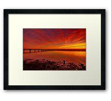 """""""Dawn Radiance"""" Framed Print"""