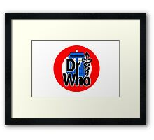 DR....WHO?? Framed Print