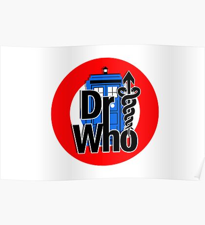DR....WHO?? Poster