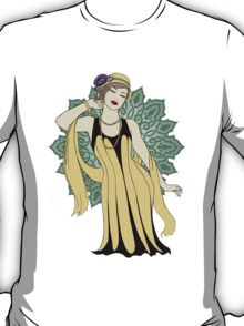 1920s Fashion Pinup  T-Shirt