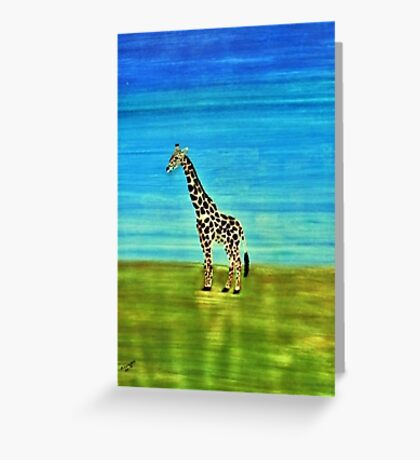 Giraffe. Perfect for the kids Greeting Card