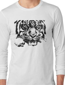 Tiger, big cat, hunter and predator Long Sleeve T-Shirt
