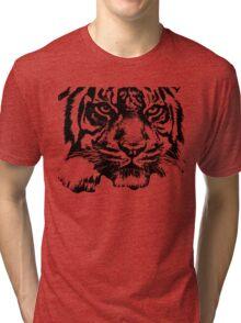 Tiger, big cat, hunter and predator Tri-blend T-Shirt