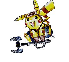 Pika-Wrench by AnthoneyArt