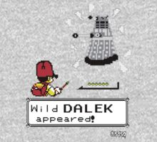 Doctormon - A wild DALEK appeared! Kids Clothes