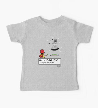 Doctormon - A wild DALEK appeared! Baby Tee