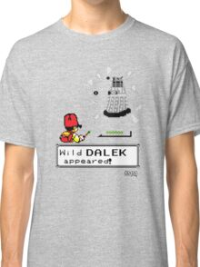 Doctormon - A wild DALEK appeared! Classic T-Shirt