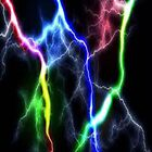 Color Lightning by Justin Kalaveras