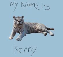 Kenny the down syndrome tiger by Chasingbart