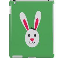 Rabbit with ribbon iPad Case/Skin