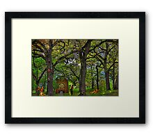 Fairies Lost  Framed Print