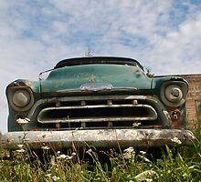 Alaska Cruising Vintage Truck by sarafureyphoto